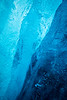 Detail of glacier ice, Athabasca