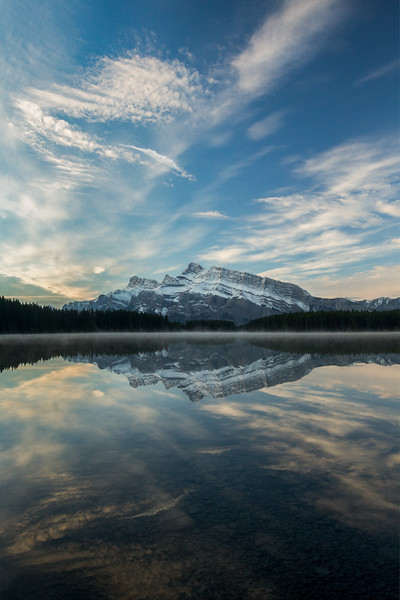 Two Jack Lake and Mount Rundle, Banff National Park