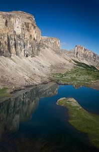 Mitella Lake, Banff National Park