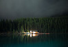 Night time at Lake Louise, Banff National Park