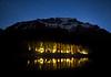 Night time and Moraine Lake