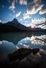 Sunset at Waterfowl Lake