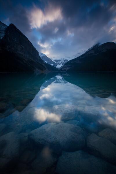 Sunset at Lake Louise, Banff National Park