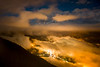 Evening on Sulphur Mountain overlooking Banff