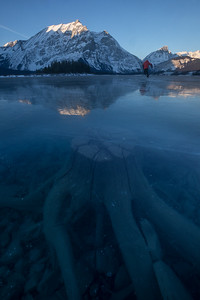 Frozen Upper Lakes, Kananaskis