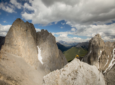 Scenes from Mount Fifi, Banff National Park.