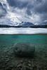 Underwater Two Jack Lake, Banff