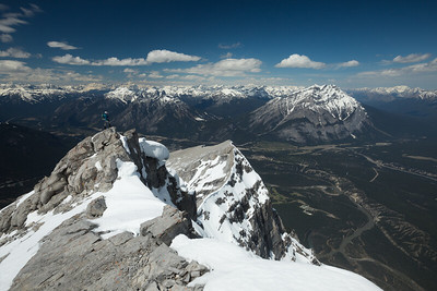 Summit of Mount Rundle