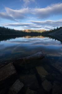 Sunset at Black Rock Lake