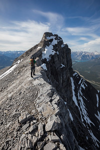 Traverse of Mount Rundle