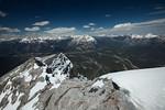 Summit of Mount Rundle