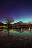 Aurora Borealis over Banff