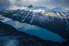 Fall Aerials, Banff National Park