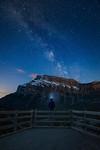 Milky Way over Banff