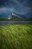 Stormy skies at Vermilion Lakes, Banff