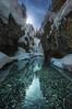 Snowy canyon