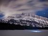 Night time In Banff