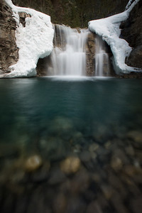 Spring time at Johnston Canyon