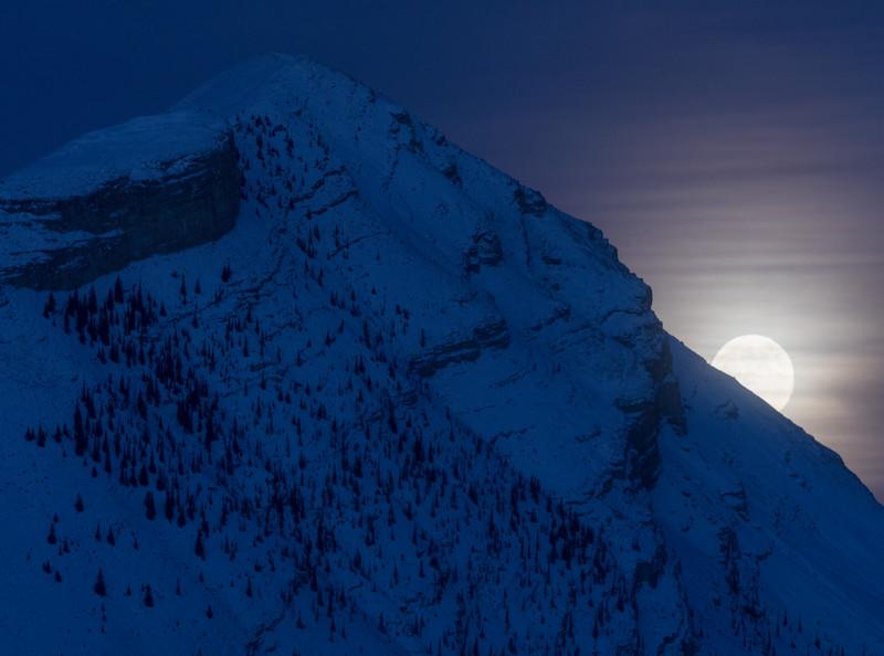 Banff backcountry in Winter