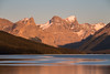 """Maligne Moments"" V, Sunset at Maligne Lake, Jasper National Park, taken during the 2014 Fairmont tour."