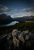 """Peyto Palette"" V, Nighttime at Bow Summit, Banff National Park, Alberta, Canada."