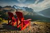 Jasper Chairs, Wilcox Pass, Jasper National Park, Alberta, Canada.