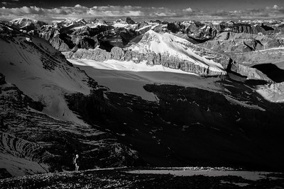 """Backcountry Bliss"" XVIII, scenes from an ascent of Mount Brazeau, Jasper National Park."