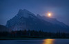 """""""Supermoon Over Vermilion Lakes"""", taken during the 2014 """"Absolute Best of the Canadian Rockies"""" workshop, co-led with Christoph Fischer."""