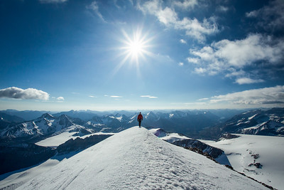 """Backcountry Bliss"" XXIII, scenes from an ascent of Mount Brazeau, Jasper National Park."