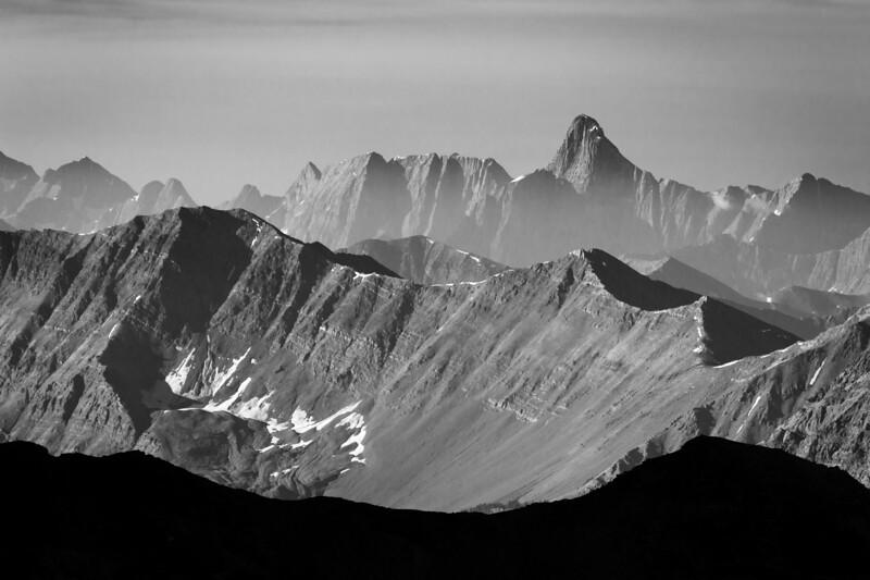 """O'Hara Bliss"" XX, Sunrise from the summit of Yukness Mountain, Yoho National Park, BC, Canada."