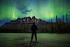 """Emerald Dreams"" IV, June 8th 2014 Aurora at Castle Mountain, Banff National Park, Alberta, Canada."