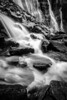 """Rushing to Stillness"" XIV, Seven Veils Falls, Yoho National Park, British Columbia, Canada."