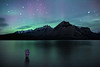 """Lake of the Water Spirits"" III, Lake Minnewanka, Banff National Park, Alberta, Canada."