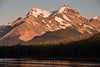 """Maligne Moments"" III, Sunset at Maligne Lake, Jasper National Park, taken during the 2014 Fairmont tour."
