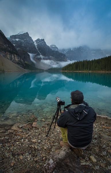 """The Ephemeral Season"" XI, Scenes from autumn in Banff National Park, Alberta, Canada."