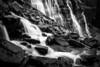 """Rushing to Stillness"" XVI, Seven Veils Falls, Yoho National Park, British Columbia, Canada."