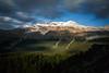 """Peyto Palette"" I, Nighttime at Bow Summit, Banff National Park, Alberta, Canada."