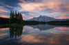 """""""Two Jack Morning Show"""" I, taken during a day of private instruction around Banff National Park, Alberta, Canada."""