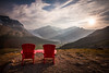Jasper Chairs, Wilcox Pass, Jasper National Park, Alberta, Canada.