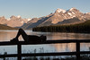 """Maligne Moments"" II, Sunset at Maligne Lake, Jasper National Park, taken during the 2014 Fairmont tour."