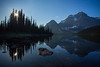 """Backcountry Gem"" XXXVIII, Shadow Lake, Scenes from the Shadow Lake area, Banff National Park, Alberta, Canada."
