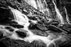 """Rushing to Stillness"" XV, Seven Veils Falls, Yoho National Park, British Columbia, Canada."