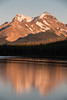 """Maligne Moments"" IV, Sunset at Maligne Lake, Jasper National Park, taken during the 2014 Fairmont tour."