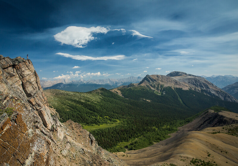"""Backcountry Gem"" XXI, Gibbon Peak, Scenes from the Shadow Lake area, Banff National Park, Alberta, Canada."
