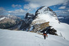 """Backcountry Bliss"" XXVI, scenes from an ascent of Mount Brazeau, Jasper National Park."