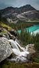 """Rushing to Stillness"" XIII, Seven Veils Falls, Yoho National Park, British Columbia, Canada."