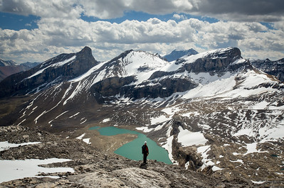 """Backcountry Bliss"" XXXV, scenes from an ascent of Mount Brazeau, Jasper National Park."