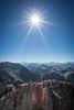 """Alpine Superhero"" II, Isabelle Peak, Kootenay National Park, British Columbia, Canada."
