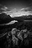 """Peyto Palette"" VI, Nighttime at Bow Summit, Banff National Park, Alberta, Canada."