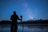 """Starry Stillness"" IV, Self-portrait, Island Lake, Banff National Park, Alberta, Canada."
